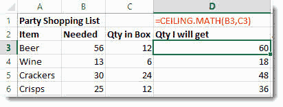 Rounding Numbers & Removing Decimals in Excel –