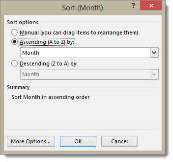 Grouping Date Fields in Excel's Power Pivot –