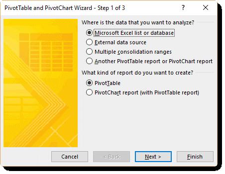 understanding the excel pivottable cache