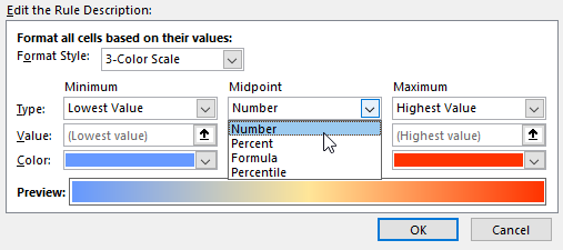 Excel VBA - Apply Colour Scale Conditional Formatting with
