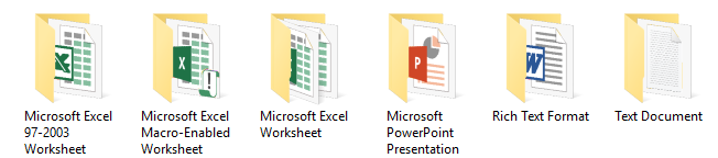Files in Folders