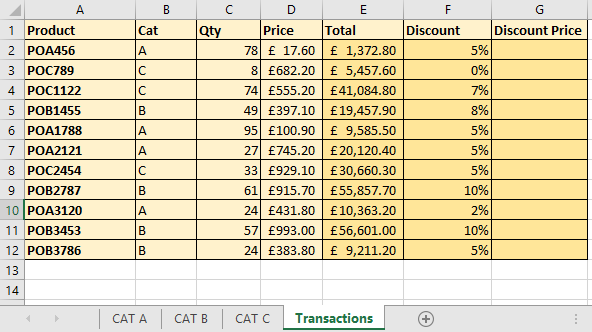 VLOOKUP Multiple Sheets Names Using the INDIRECT Function –